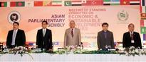 A two-day meeting of Asian Parliamentary Assembly's Committee on Economic and Sustainable Development began in Islamabad today