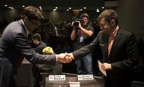 London Chess Classic: Viswanathan Anand holds Levon Aronian; Fabiano Caruana registers first win