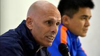 'Nobody can take his place for granted,' says Indian football coach Stephen Constantine