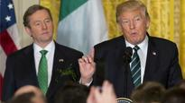 St Patrick was 'an immigrant': Irish PM Enda Kenny tells Donald Trump