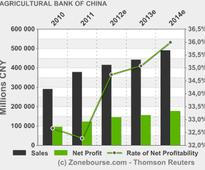 AGRICULTURAL BANK OF CHINA LTD : Announcement on The Audit Results Issued by The National Audit Office of The People'S Republic Of China