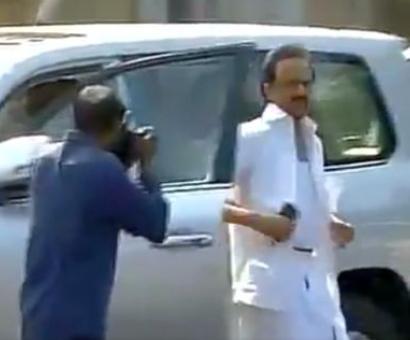 Speaker tore of his shirt himself and blamed DMK MLAs: Stalin