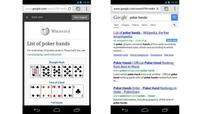 Google adds expandable links and Quick view to mobile search