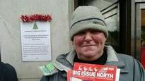 Funeral held for Big Issue seller