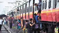 Coach of Karjat-bound fast train derails, no casualties