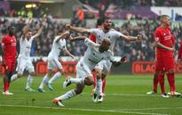 EPL: Swansea beat Liverpool 3-1 on the back of an Andre Ayew brace