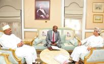 His Majesty Sultan Qaboos receives written message from Burundi