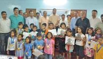 Parth, Girija U-7 chess champions
