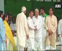 Was pressured to accept Nitish as CM, says Lalu Yadav at Patna rally