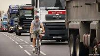London lorry ban 'to protect cyclists'