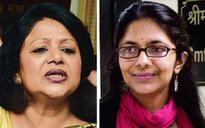 DCW chief Swati Maliwal takes on Barkha Singh on work issues
