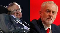 Stephen Hawking regards Jeremy Corbyn a 'disaster' for UK Labour party