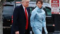 Melania Trump channels Jackie-O in Ralph Lauren
