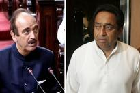 Congress puts Azad in charge of UP, Kamal Nath to oversee Punjab