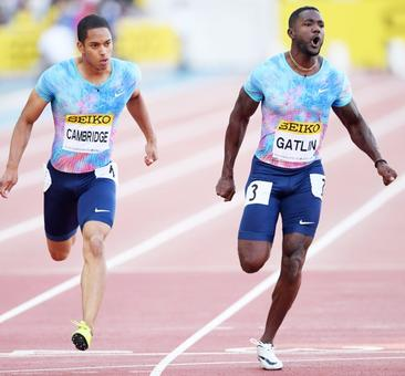 Veteran Gatlin claims 100 metres victory at Japan Golden Prix
