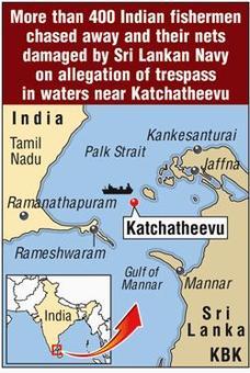 Tamil Nadu fishermen chased away by Lankan navy, fishing nets cut