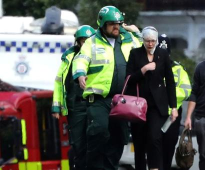 Londoners 'put the kettle on' for people affected by explosion