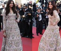 Aishwarya Rai Bachchan pops in blue at Cannes