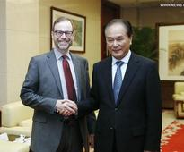 Xinhua president meets with Reuters' counterpart in Beijing