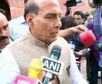 Sukma attack shows Naxals are frustrated: Rajnath Singh