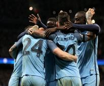 UCL: Sergio Aguero stars as Manchester City sink AS Monaco 5-3