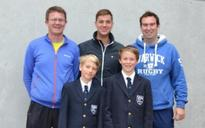 Wimbledon star Marcus Willis talks tennis at Warwick School