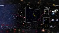 Astronomers detect distant galaxy at the edge of the known universe, 13.1 billion years in the past