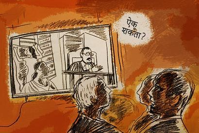 Sheena Bora Trial: Indrani was a dark blob against a jail window