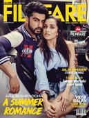 Arjun, Shraddha dazzle in Filmfare magazine cover