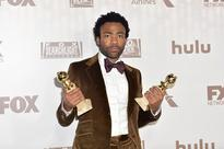 Donald Glover, winner of Best Actor in a Television Series - Musical or Comedy for 'Atlanta,' attends FOX and FX's 2017 Golden Globe Awards after party.