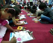 Dammam: ISF conducts 'Art Beat' Coloring Competition in Jubail, Al Khobar