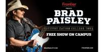 Brad Paisley Announces Return of Highly Successful Country Nation College Tour