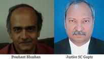Prashant Bhushan objects to Bombay HC judge hearing a case involving Reliance