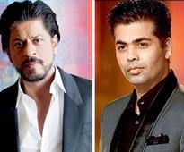 OMG! Shah Rukh Khan trolls Karan Johar on his Kabhi Khushi Kabhie Gham tweet