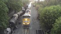 Oregon officials want oil trains barred from Columbia Gorge after fiery derailment