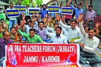 SSA teachers demand release of pending six-month salary