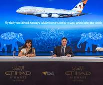 ETIHAD AIRWAYS FLAGSHIP AIRBUS A380 SERVICE TO MUMBAI A SIGN OF INDIAS IMPORTANCE TO OUR GROWTH STRATEGY
