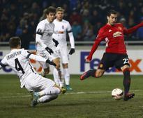 Mkhitaryan provides ray of light for United, Mourinho