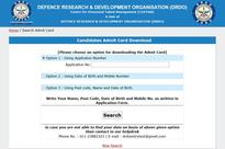 DRDO admit card 2016: CEPTAM 8 admit card now available for download
