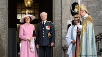 European royals help Swedish King celebrate 70th birthday