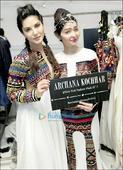 Sunny Leone and acid attack victim Reshma Qureshi walk the ramp for designer Archana Kochhar