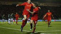 Lucas helps Liverpool pip Plymouth in FA Cup replay