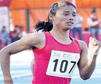 Suriya finishes 13th; Assam's Hima in semis