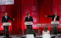 The latest: Republican presidential candidates battle in South Carolina