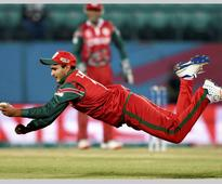 Video: Oman's Zeeshan Maqsood takes 'unbelievable catch' against Ireland in WT20 qualifier