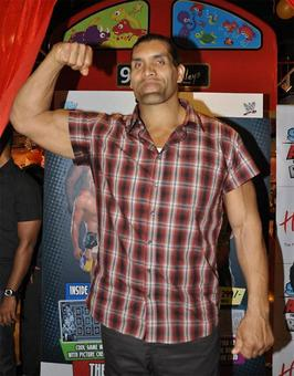 WWE star 'The Great Khali' shares his dream