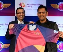 Dhoni joins his new IPL team Rising Pune Supergiants