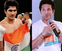 Sachin might come at Vijender Singh's WBO Asia Pacific title match