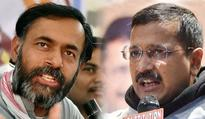 It's Kejriwal vs Yogendra Yadav in Delhi municipal polls