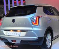 Duster-Rival Ssangyong TIVOLI Showcased: Pics & Details [Auto Expo 2016]